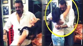 Sanjay Dutt's Romantic DANCE With Wife Manyata After His Biopic Sanju Movie Success