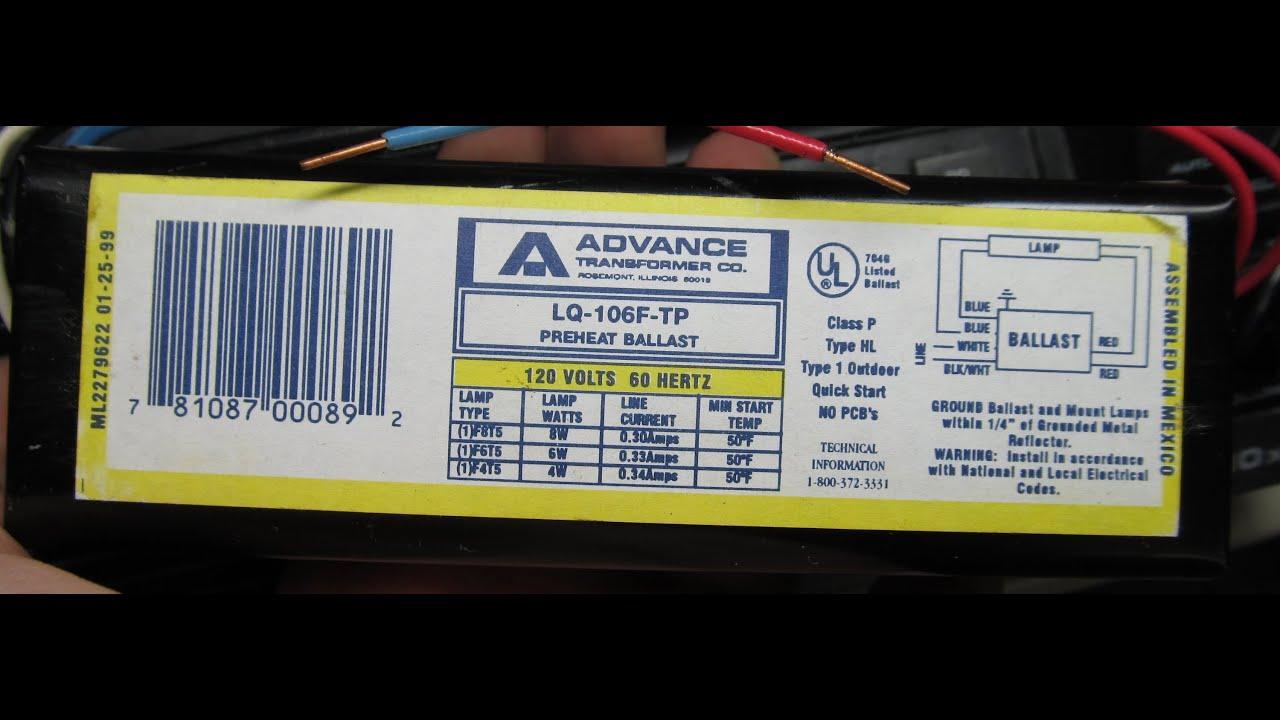 Advance LQ106FTP magnetic rapid start 468 watt