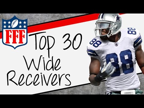 2015 Fantasy Football Top 30 Wide Receiver Rankings - FFF