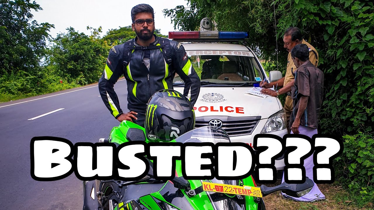 Police Interceptor On The Way Back Malayalam Vlog Alleppey