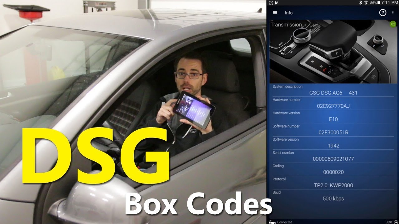 How to get your DSG Box Code for your DSG Tuner