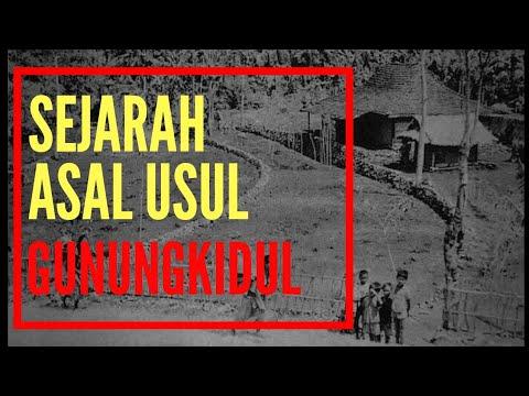 SEJARAH ASAL USUL GUNUNG KIDUL