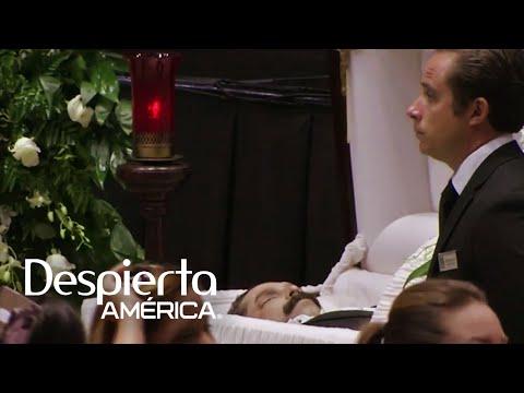 Sorprendentes imágenes del funeral de Emilio Navaira