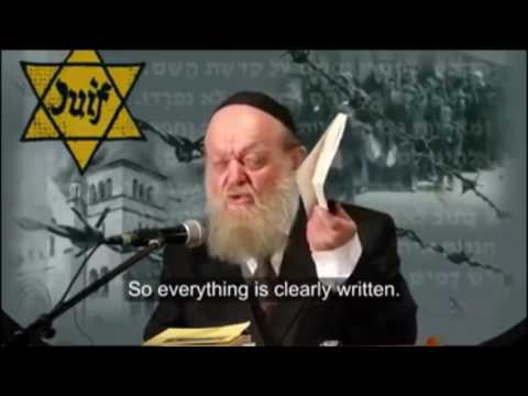 A Jewish rabbi telling the truth about Hitler.