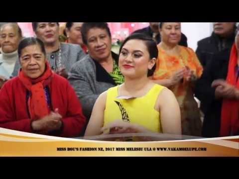 Miss BOU'S Fashion NZ, 2017 Miss Melesiu Ula 01
