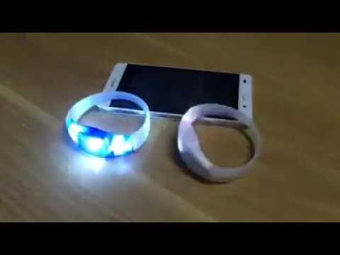 Sound Activated Music Sensor Led Bracelet for Carnival  Night Club Bar