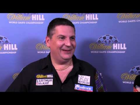 Interview | INCREDIBLE COMEBACK From Gary Anderson Against Jelle Klaasen At Ally Pally!