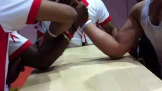 Pancha Gusthi Arm wrestling by Jaleel Villiappally Kozhikode Kerela India at Dubai, UAE