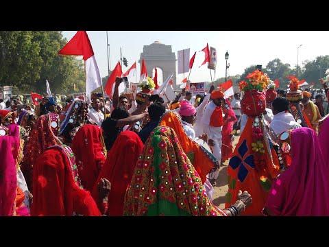 New Delhi || India Gate || Banjara Culture Super Dance || 2020 Sevalal Jayamti Special Dance Video