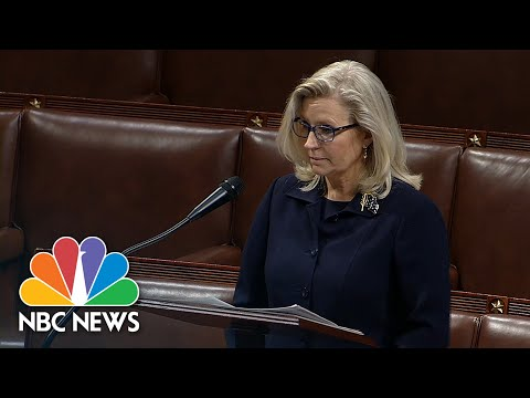 Liz Cheney Addresses Calls To Remove Her From GOP Leadership
