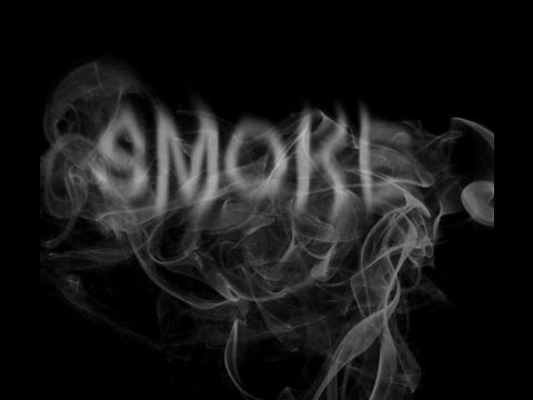 Write your name in smoke