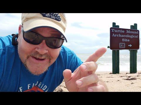 Turtle Mound Beach, New Smyrna Florida