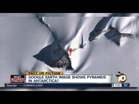Pyramids in Antarctica?