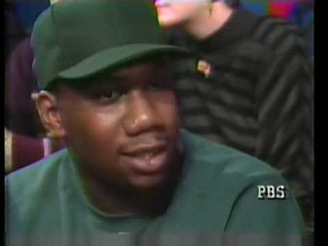 KRS One  speaks on the 1992 presidential election