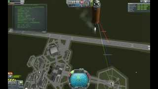 Kerbal Space Program kOS Automatic Landing Test #61