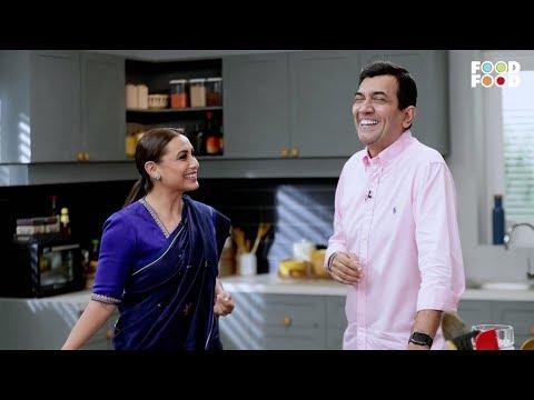 Rani Mukerji with Chef Sanjeev Kapoor | Mardaani 2 on CookSmart | Snippet | FoodFood
