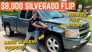 TURNING My $2,800 Silverado Into An $8,000 TRUCK By Fixing All The Small Things