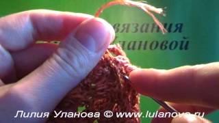 Кофточка летняя - 6 часть - Crochet blouse summer - вязание крючком