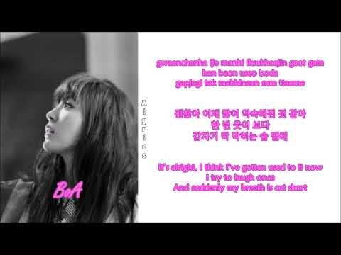 BoA - Mayday! Mayday! (Rom-Han-Eng Lyrics)