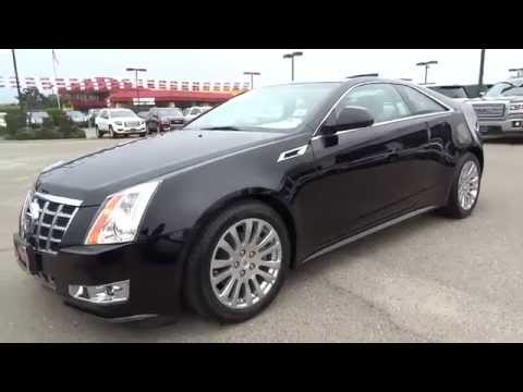 2013 Cadillac CTS Coupe Performance Package Only 12,744 Miles ...