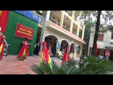 Múa tốp nữ Trường THPT Cao Bá Quát-Quốc Oai
