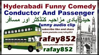 vuclip Funny Hyderabadi Comedy ,bus conductor and passenger ticket