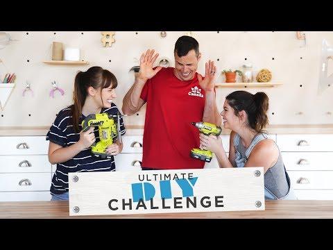 THE ULTIMATE DIY CHALLENGE   KELSEY VS BECKY