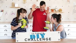 THE ULTIMATE DIY CHALLENGE | KELSEY VS BECKY
