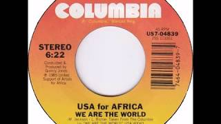 Usa For Africa We Are The World - short edit version.mp3