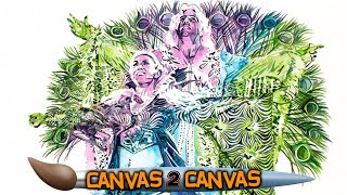 The Flair family ferociously flocks to the canvas : WWE Canvas 2 Canvas