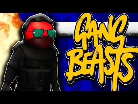 Gang Beasts - Random Moments Ft. TyTyTheJedi, Best In Class and FranDaMan1! | Comedy Gaming