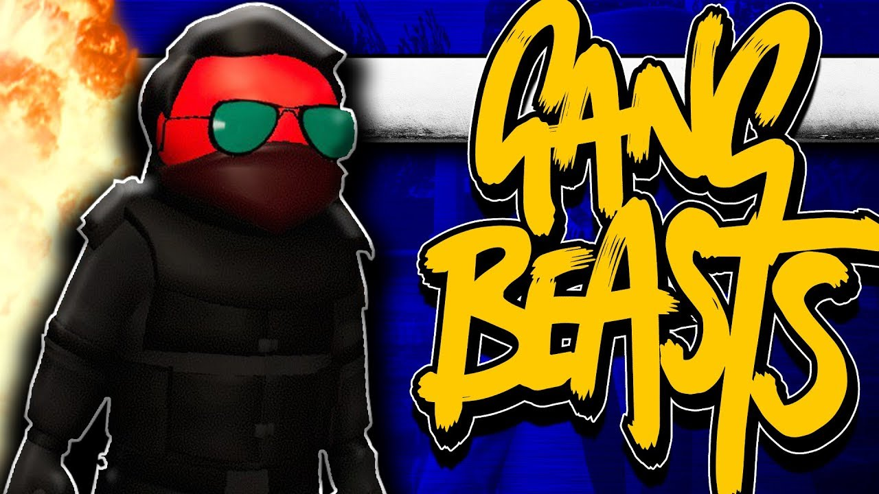 Gang Beasts - Random Moments Ft  TyTyTheJedi, Best In Class and FranDaMan1!  | Comedy Gaming