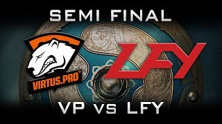 VP vs LFY TI7 Semi Final Highlights The International 2017 Dota 2