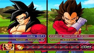 Dragon Ball Z: Budokai Tenkaichi 3 All Characters (HD) [PS2]