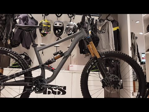 CUBE HANZZ 190 TM 27.5 grey´n´black Freeride Fully Modell 2018