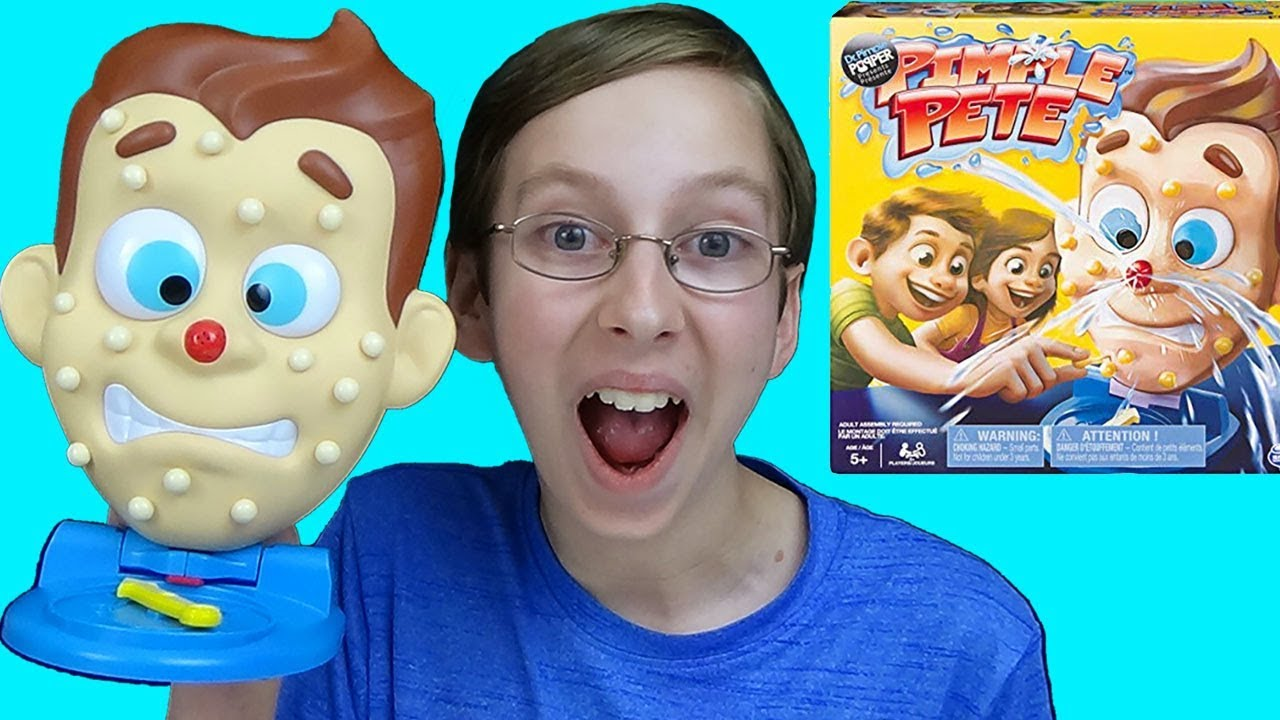Pop Pimples In Dr Pimple Popper S Game Pimple Pete Funny Game Toy Review Collintv