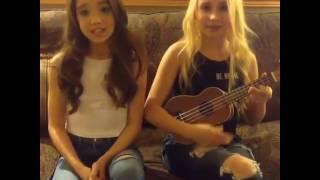 Ruby Jay und Vivien Hicks singen