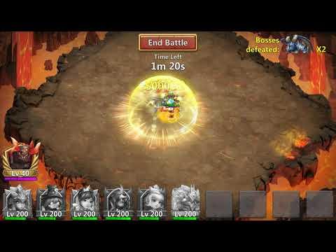 Castle Clash - Archdemon - Summons Monsters / Area Damage / Immune To Energy Reduction - 8,1 Billion