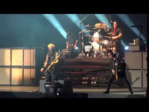 Green Day - Intro + Know Your Enemy (Live Porto Alegre 07/11