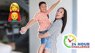 BEING A MOM FOR 24 HOURS CHALLENGE!!