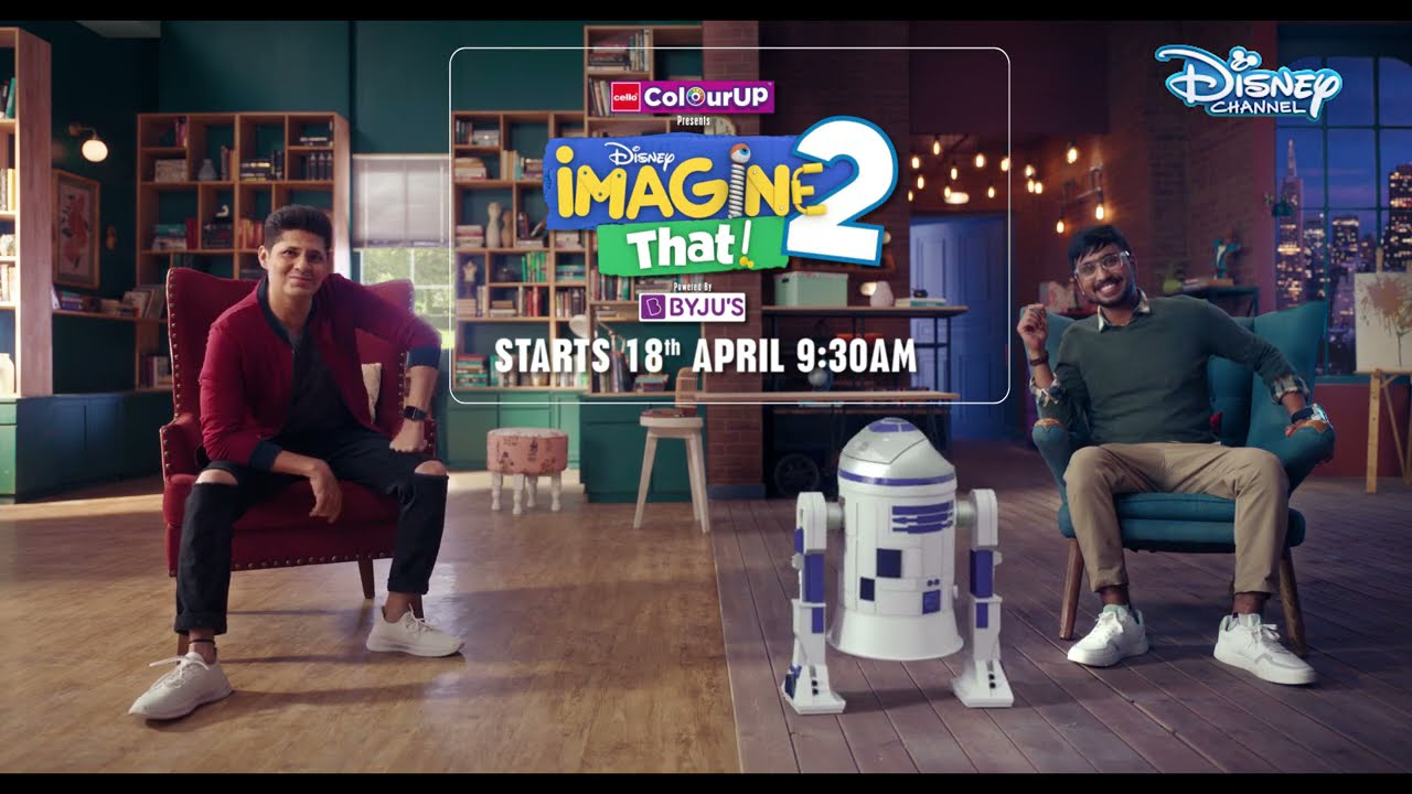 Disney Imagine That 2 | Featuring Vishal Malhotra & Simrankumar Puri | 18th April | Disney Channel