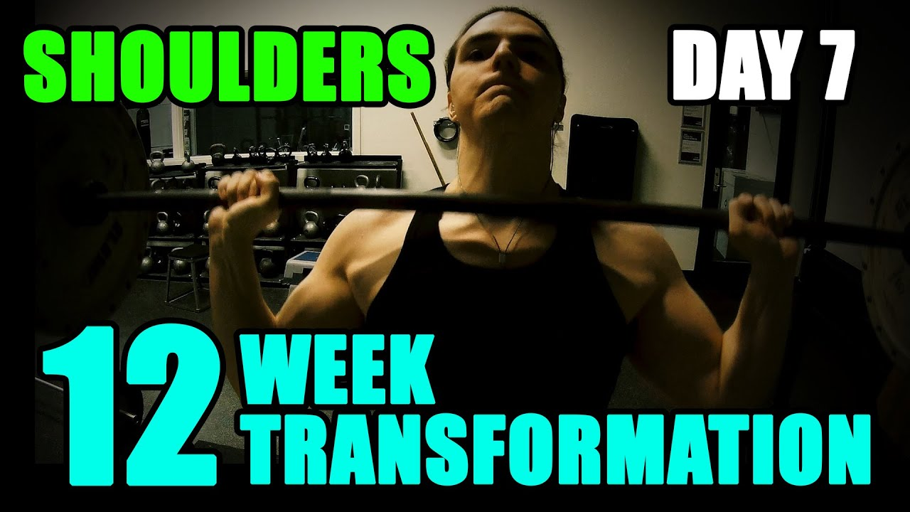 Arnold schwarzeneggers blueprint to cut shoulders l 12 week arnold schwarzeneggers blueprint to cut shoulders l 12 week transformation challenge l day 7 youtube malvernweather Choice Image