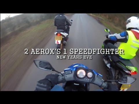 """2 AEROX'S 1 SPEEDFIGHTER """"31/12/16"""""""
