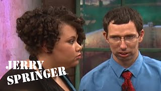 Geeky Guy REACTS To Wife Cheating On Him With Ex // Jerry Springer Official