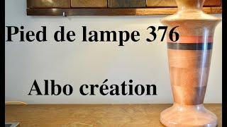 Création pied de lampe. 376.