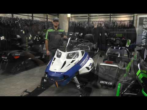 2017 Arctic Cat Bearcat 2000 XT Blue & White