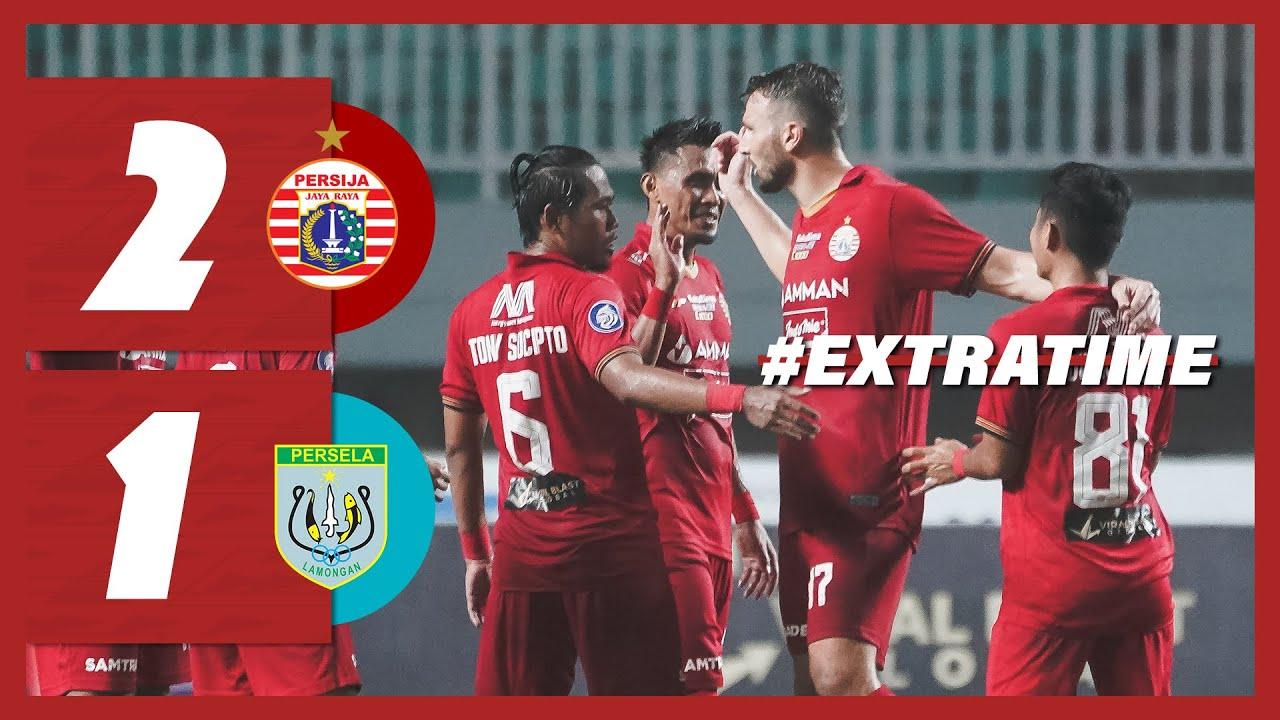 Download PERSIJA JAKARTA 2-1 PERSELA LAMONGAN [BRI Liga 1 2021/2022]   Extra Time