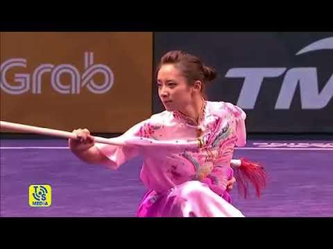 Màn biểu diễn thương thuật của Dương Thúy Vi đoạt HCV ở SEA Games 29