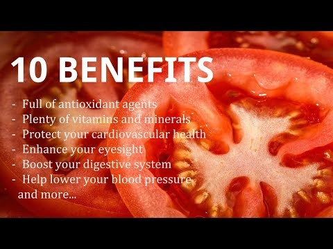 Why Should You Eat Tomatoes as of TODAY? | Health And Nutrition