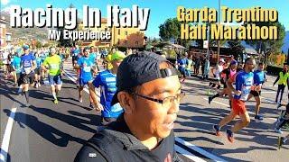 Racing in Italy - Run Expo & Race Vlog | Garda Trentino Half Marathon in Lake Garda